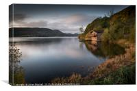 Ulswater Cabin, Canvas Print