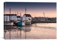 Woodbridge Tidemill , Canvas Print