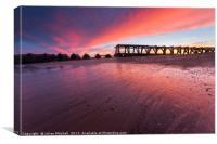 Laundguard Sunset, Canvas Print