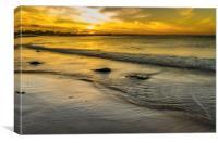 Moray Sunset, Canvas Print