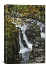 Hermitage falls, Canvas Print