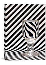 Light refraction 60's style, Canvas Print