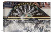 Waverley Close-up Port side Paddle Housing, Canvas Print
