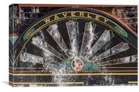 Paddle Steamer Waverley, Canvas Print