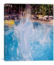 Splash5, Canvas Print
