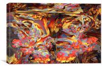 Mandelbulb 3D 1, Canvas Print