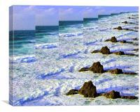 INFINITY SEA, Canvas Print