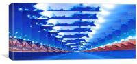 INFINITY LANDSCAPE, Canvas Print