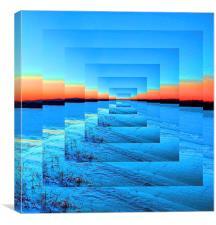 Infinity Snow, Canvas Print