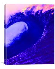 Abstract Wave, Canvas Print