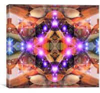 Alien Abstract, Canvas Print