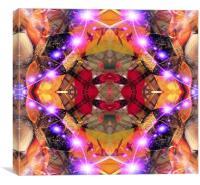 Organic Star, Canvas Print