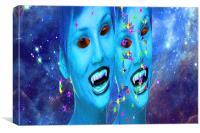 Space Vampires, Canvas Print