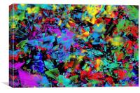 Broken Glass, Canvas Print