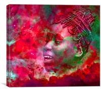Goddess of Fire, Canvas Print