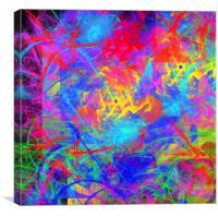 Colour Chaos, Canvas Print