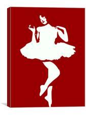 Dancer, Canvas Print