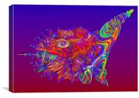 Alien Sea Creature, Canvas Print