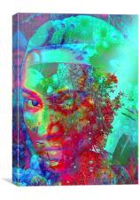 Starlight 2, Canvas Print