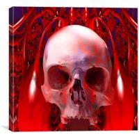 Skull Transfusion, Canvas Print