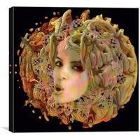 Organic Planet, Canvas Print