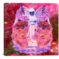 Space Angel, Canvas Print