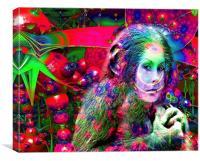 Alien Jungle , Canvas Print