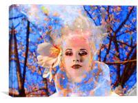 Magic Flower, Canvas Print