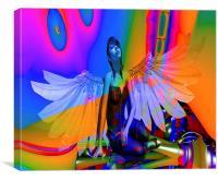 Flying Dream, Canvas Print
