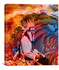 Astral Dreamtime, Canvas Print