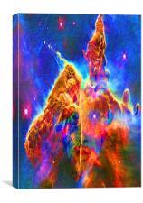 Cosmic Mind, Canvas Print