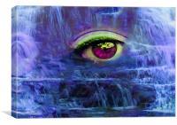 Waterfall Tears, Canvas Print