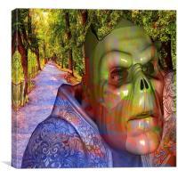 Tree Demon, Canvas Print