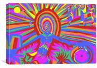 illumination Metamorphosis , Canvas Print