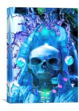 Skull Worship, Canvas Print