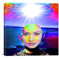 Sunshine Illumination, Canvas Print