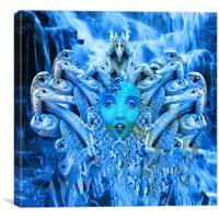 Medusa Metamorphosis, Canvas Print