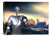 Hamlet Science-Fiction, Canvas Print