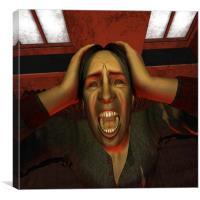 Primal Scream, Canvas Print