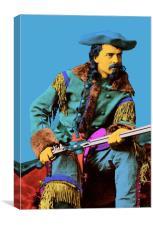 Buffalo Bill Cody , Canvas Print