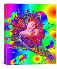 Mermaid Metamorphosis, Canvas Print