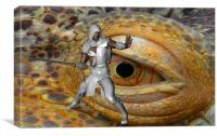 Dragon Slayer, Canvas Print