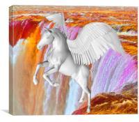 Pegasus , Canvas Print