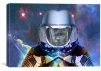 Alone in Space, Canvas Print
