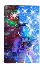 Astronaut dimensions, Canvas Print