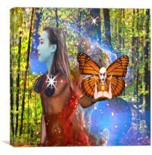 Magic Garden , Canvas Print