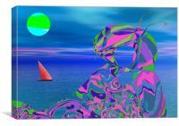 Exotic Dreams, Canvas Print