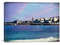Beautiful Swanage., Canvas Print