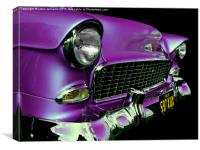 American Icon 1955 Chevy, Canvas Print