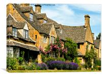 Jewel of the Cotswolds , Canvas Print